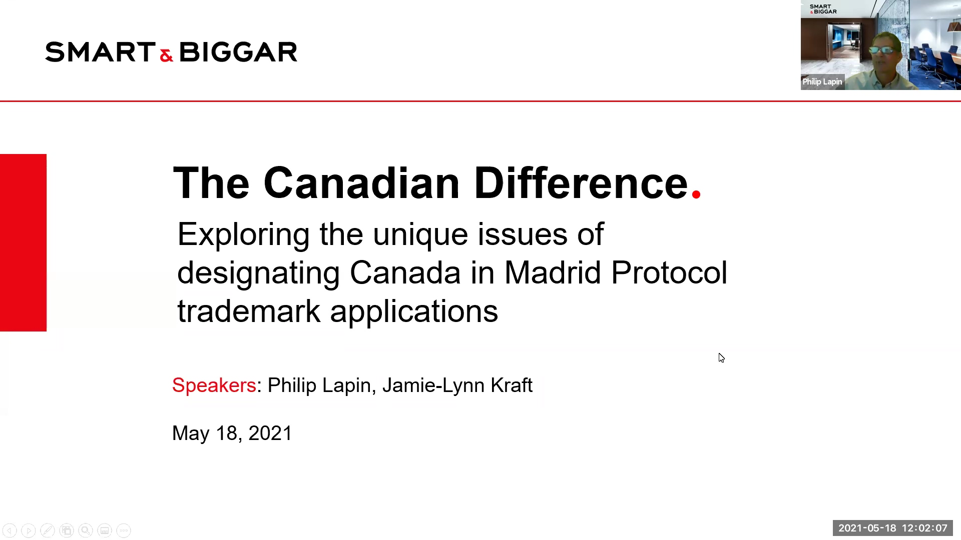 Designating Canada in Madrid Protocol trademark applications