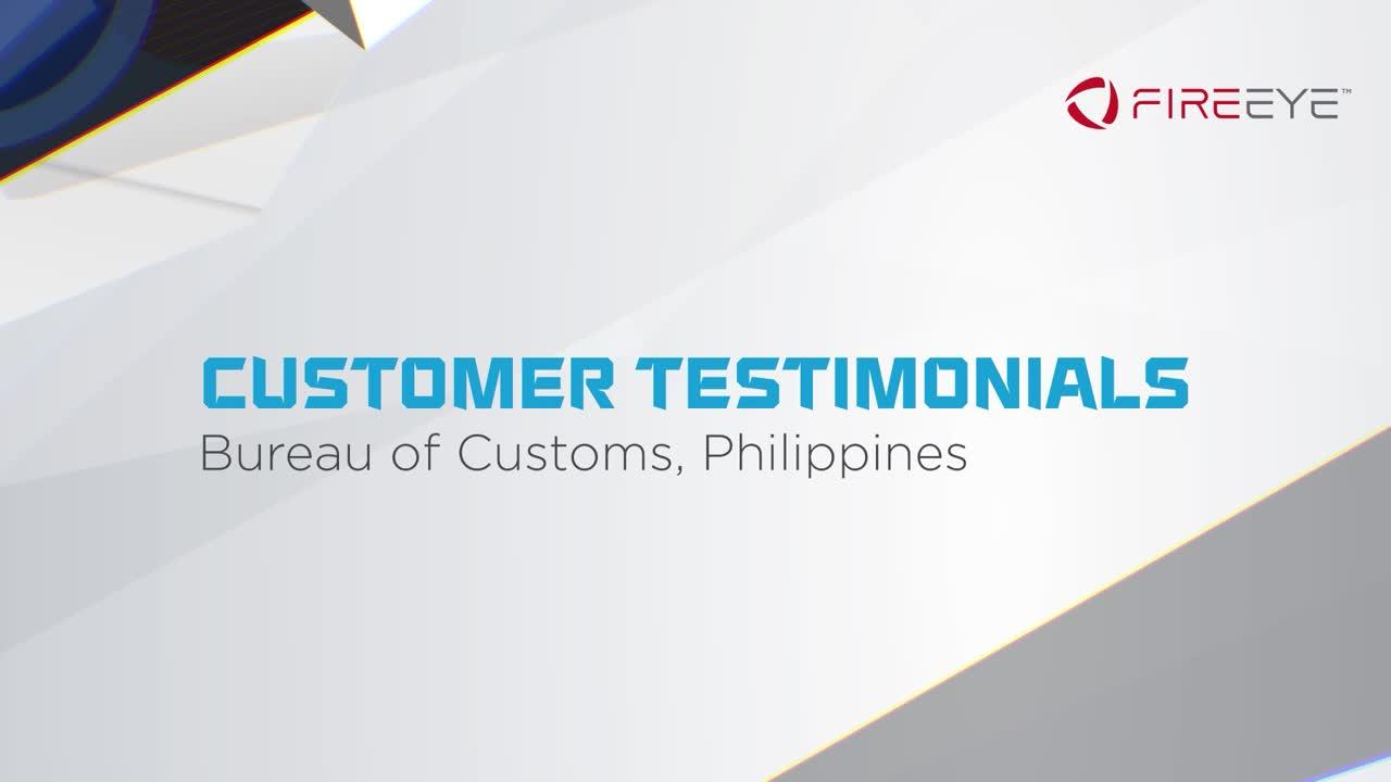Bureau of Customs, Philippines - customer story