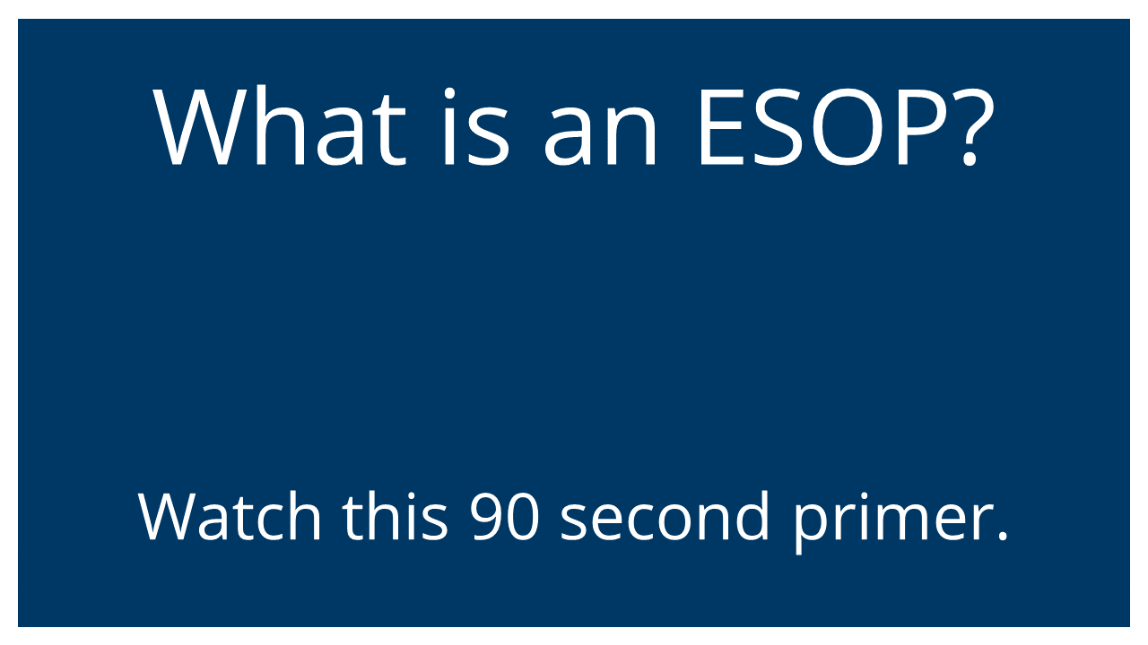 What is an ESOP? (Optimized for Email)