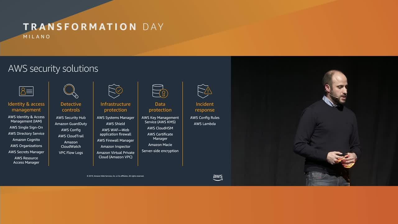 Accresci il livello di sicurezza aziendale utilizzando il Cloud