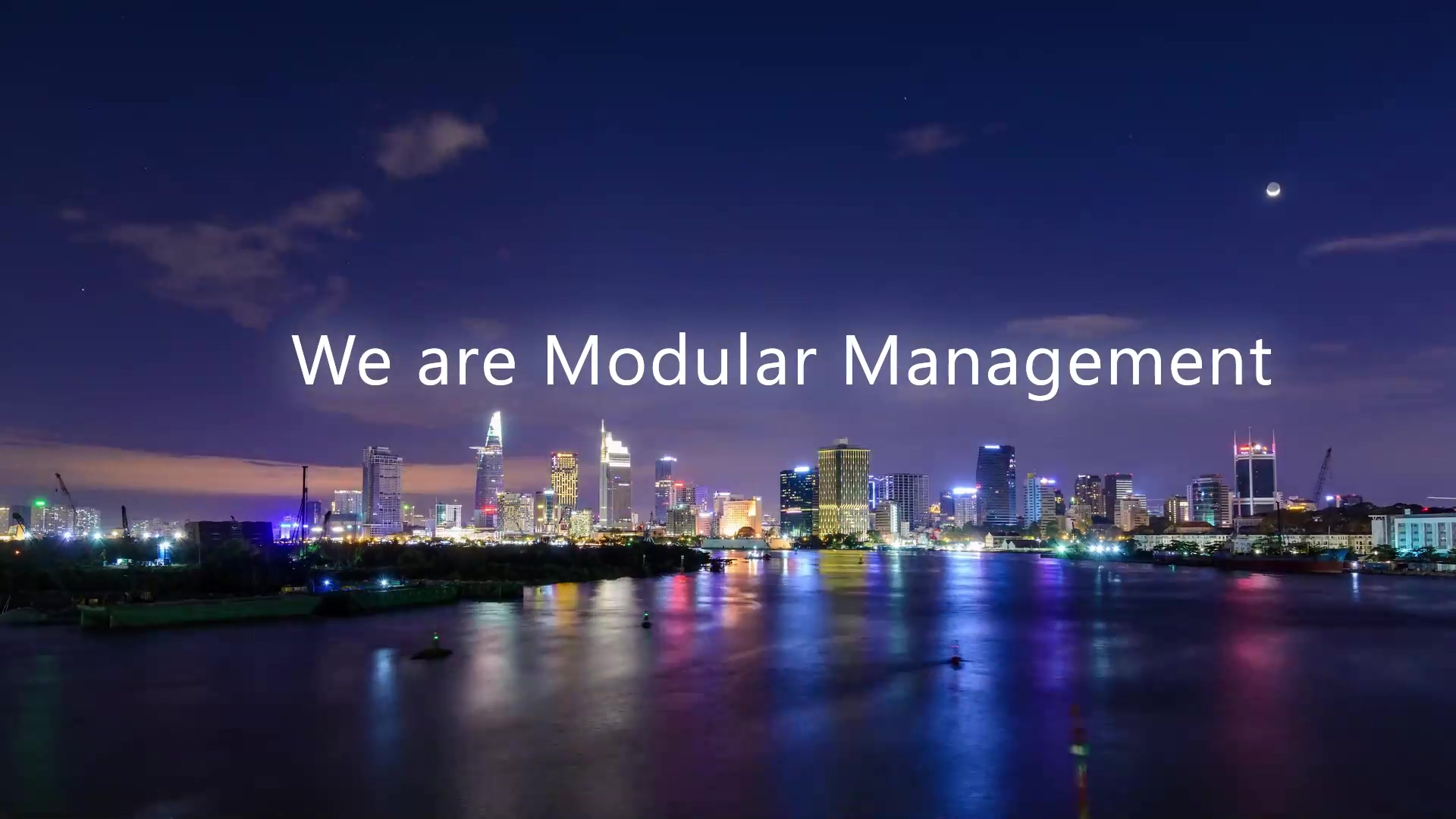 Modular Management - Pioneers of Modularity since 1996