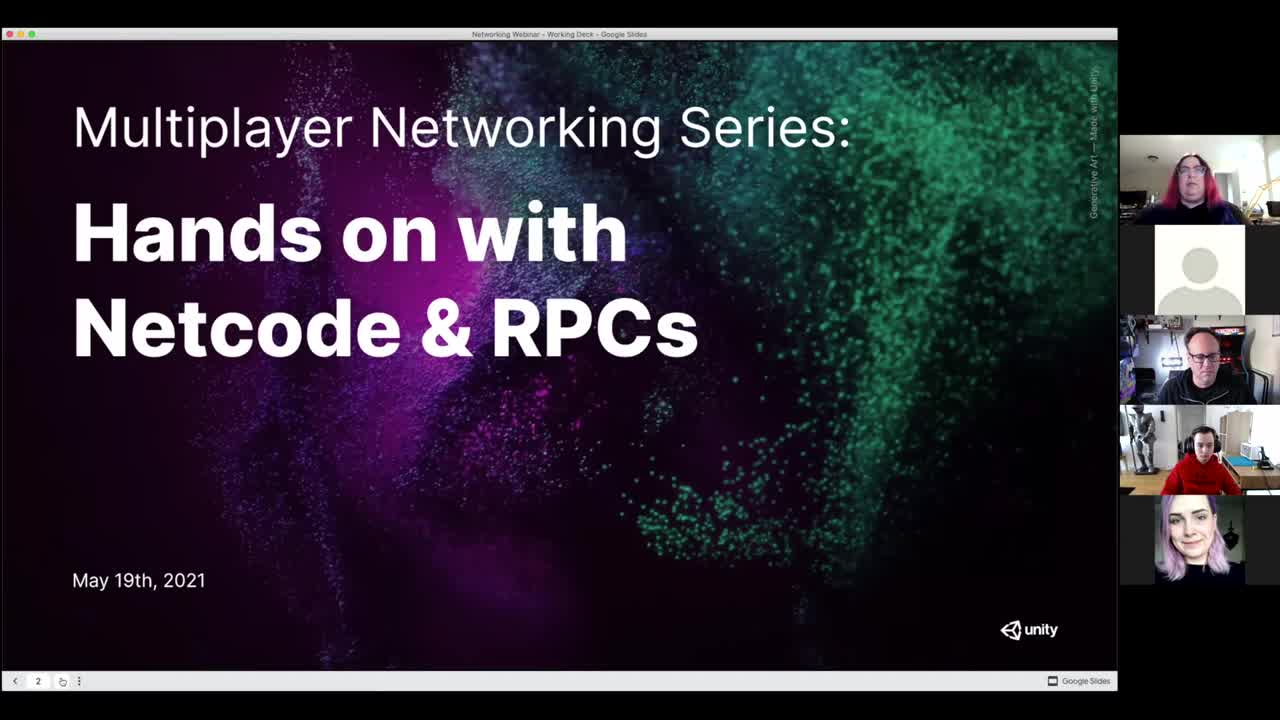 Multiplayer Networking Series: Hands on with Netcode & RPCs