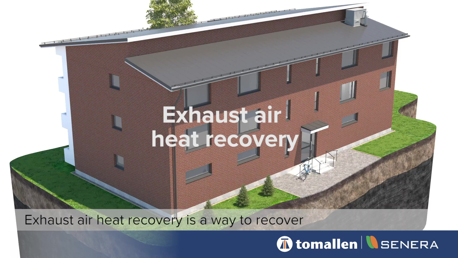 Exhaust air heat recovery