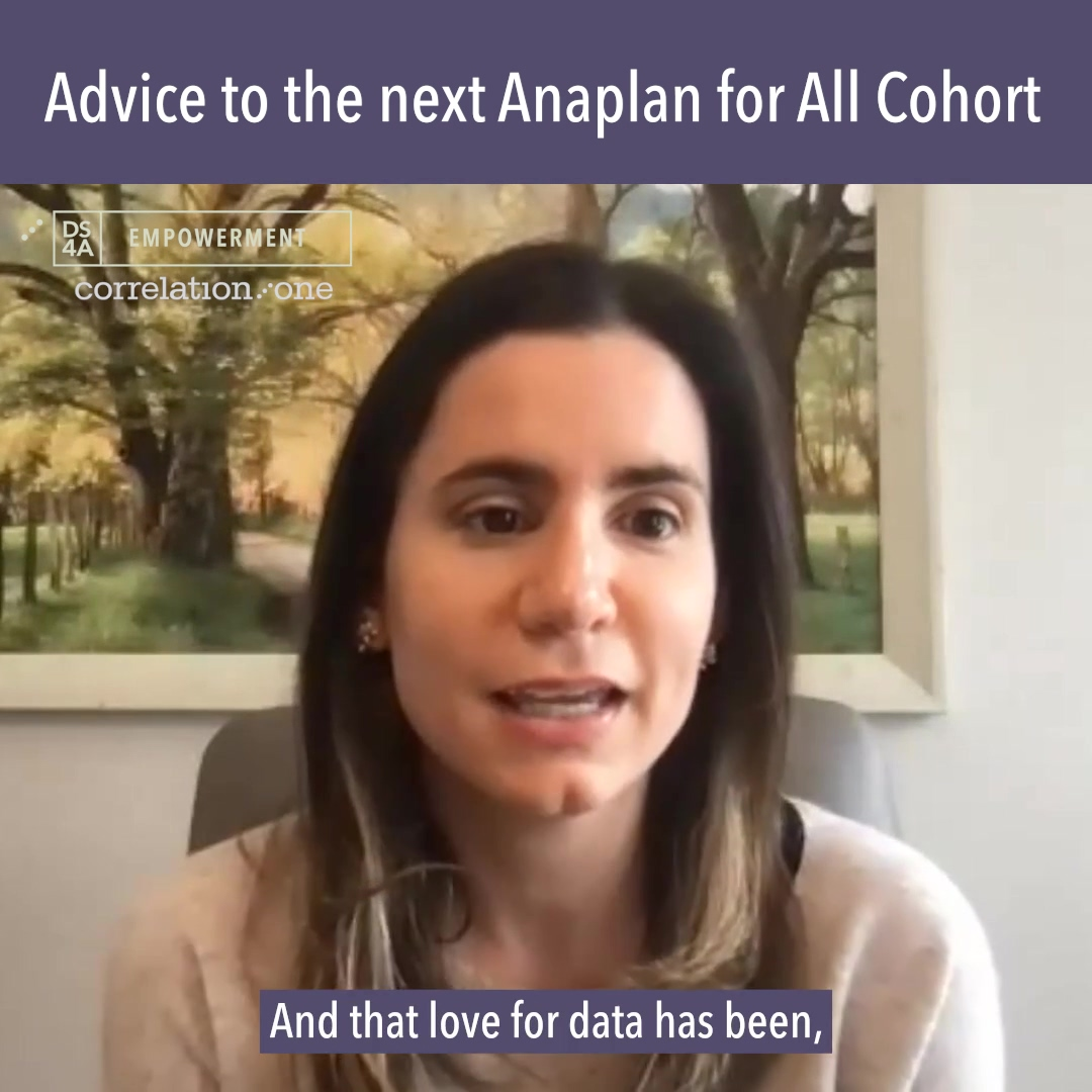 Advice to the next Anaplan for All Cohort-1
