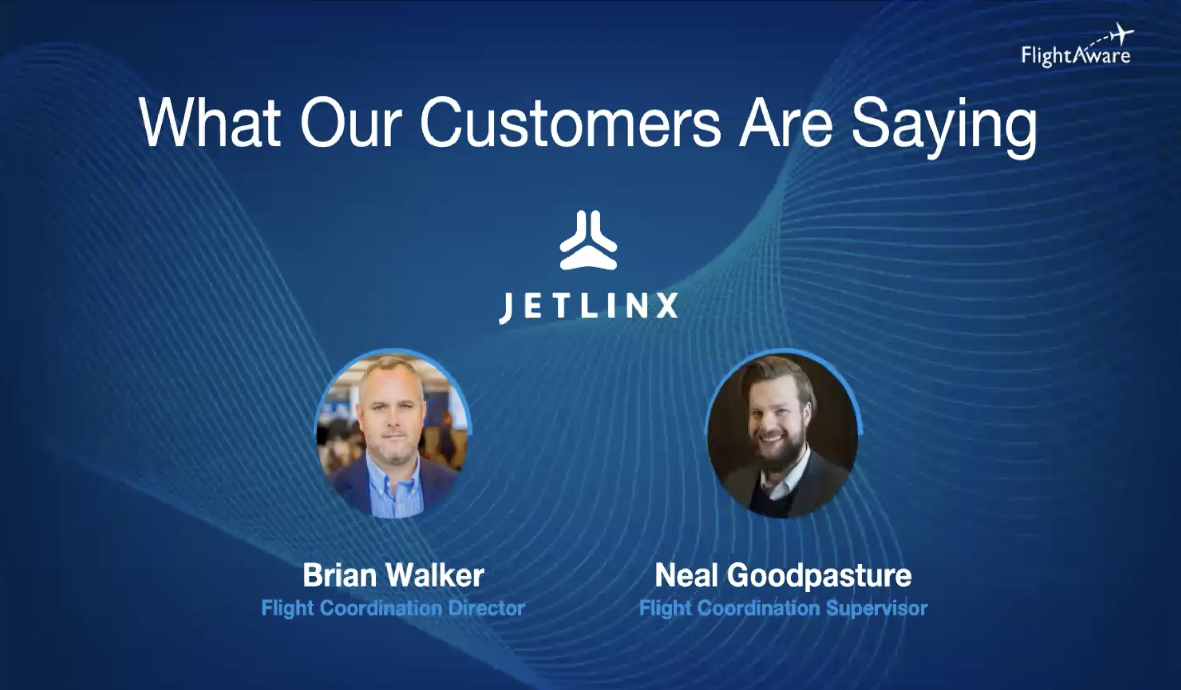 Jet Linx Testimonial