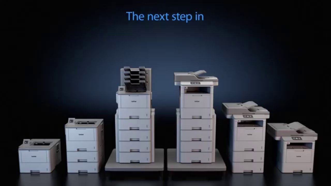The Brother Workhorse HL-L6400DW and MFC-L6900DW series monochrome laser printers and All-in-Ones