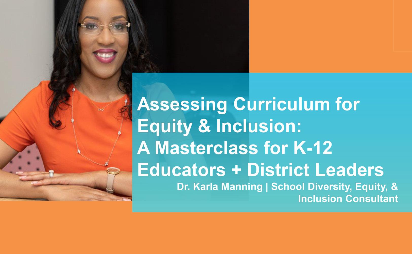Dr Karla Manning DEI Webinar