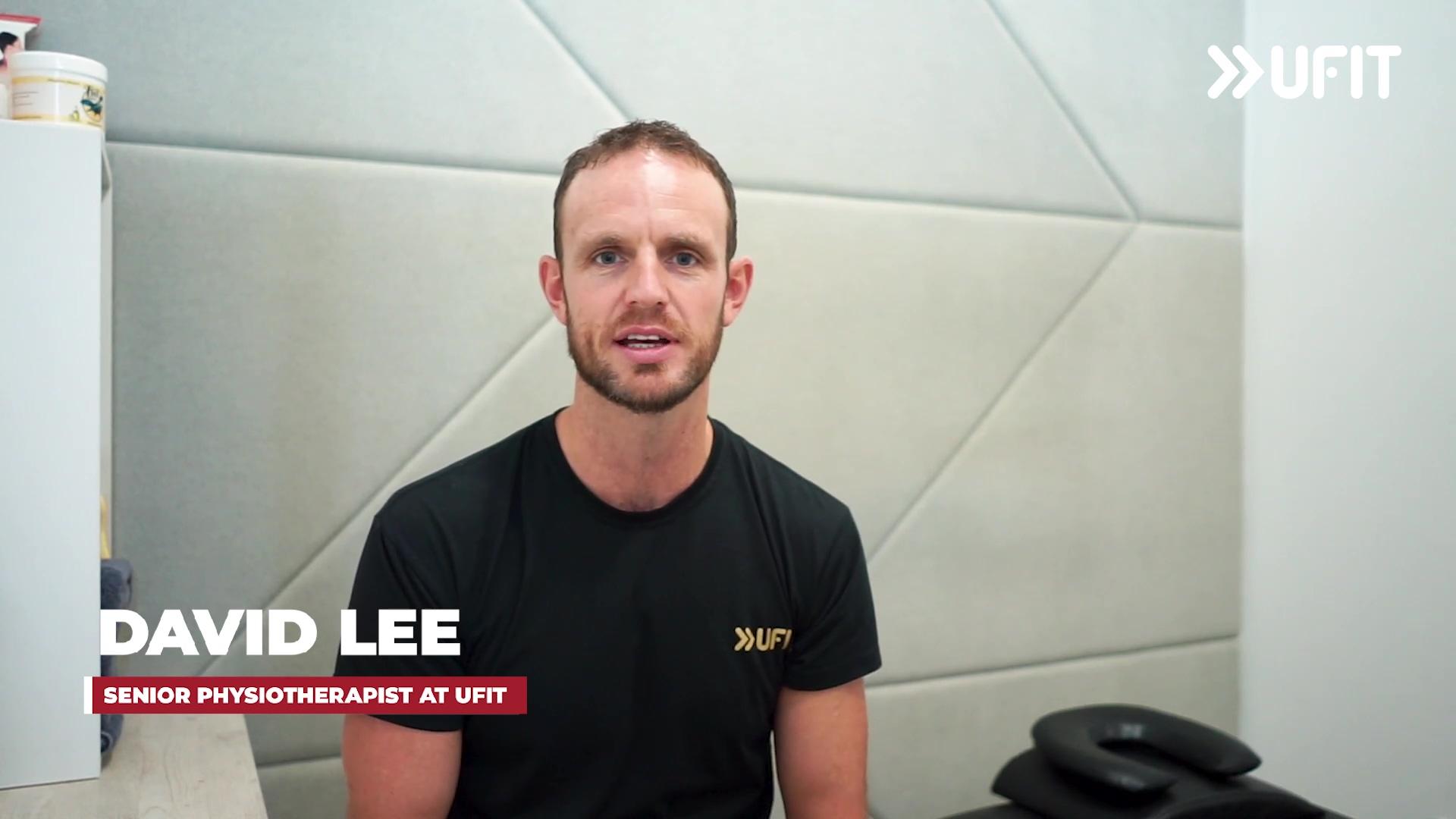 Wellness series - Dave Lee