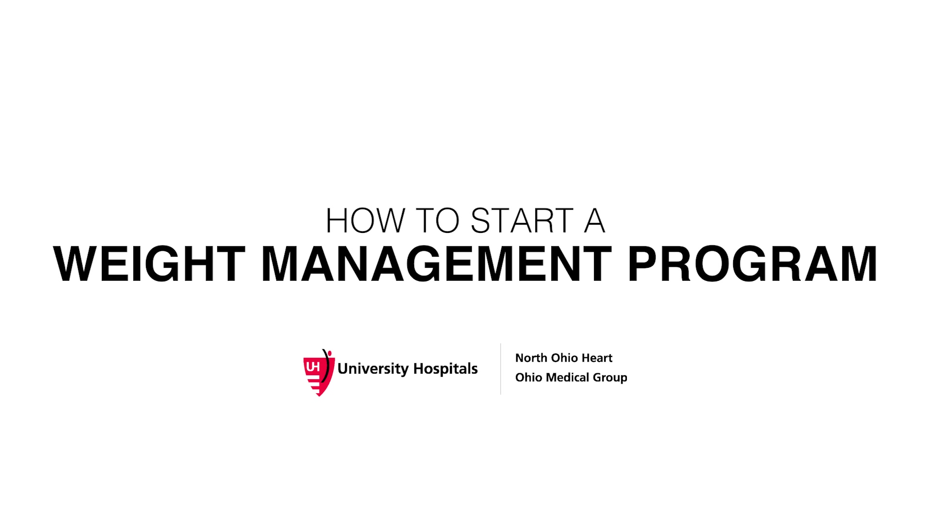 Dr Katsnelson-How To Start a Weight Management Program