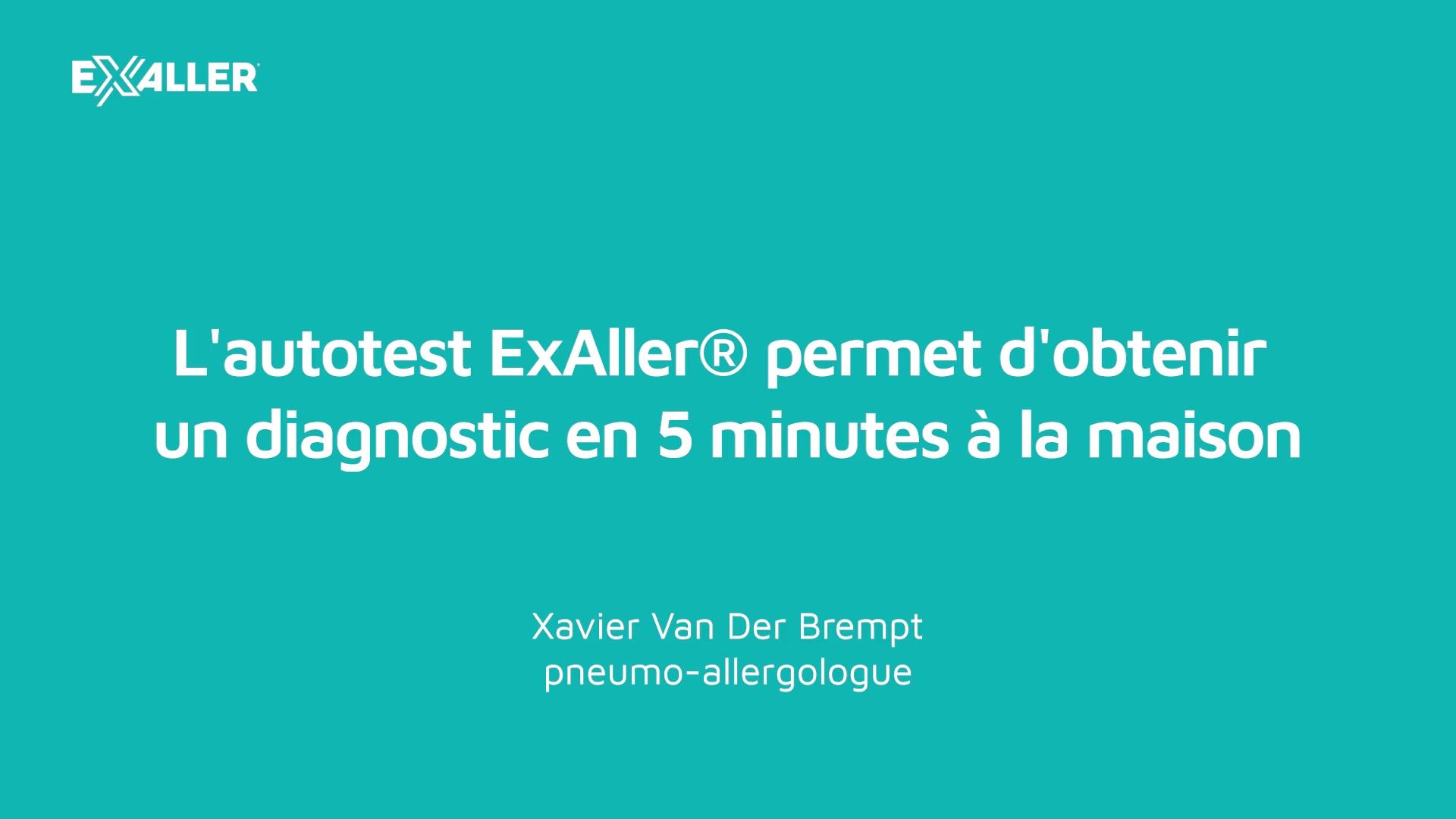 X11 Lautotest ExAller donne un diagnostic en 5 minutes à la maison