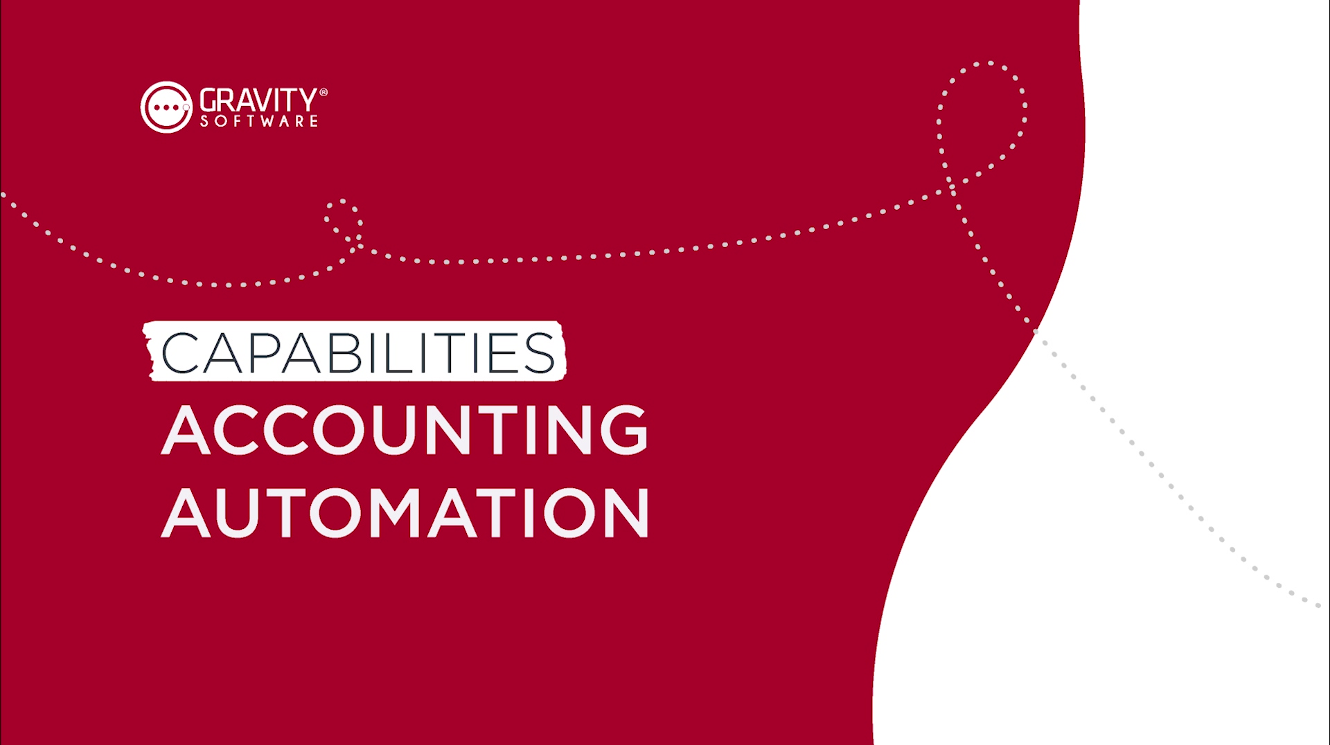 Gravity Software Cloud-Based Accounting Automation