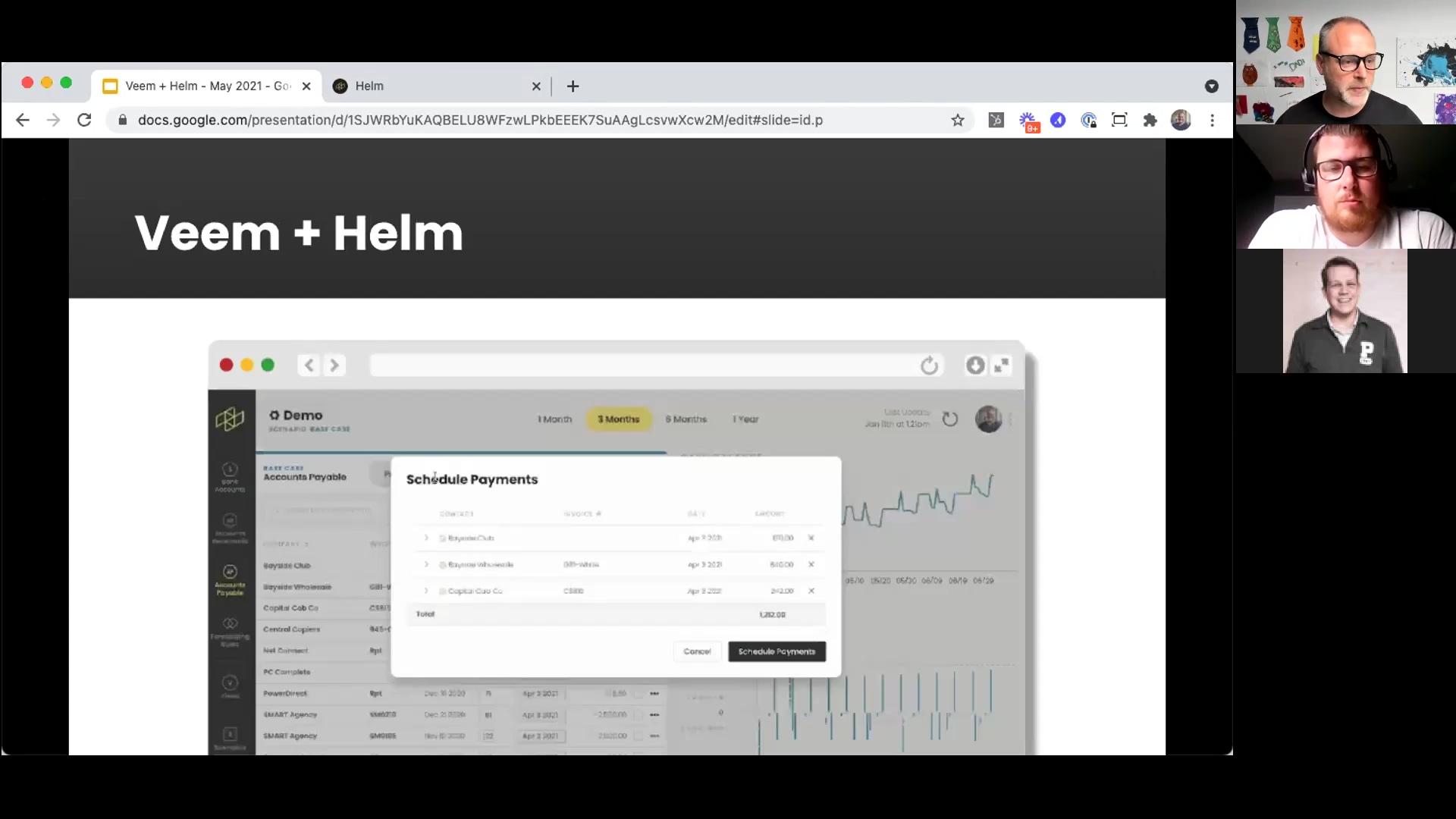 Helm + Veem Webinar - May 2021 - Veem Integration