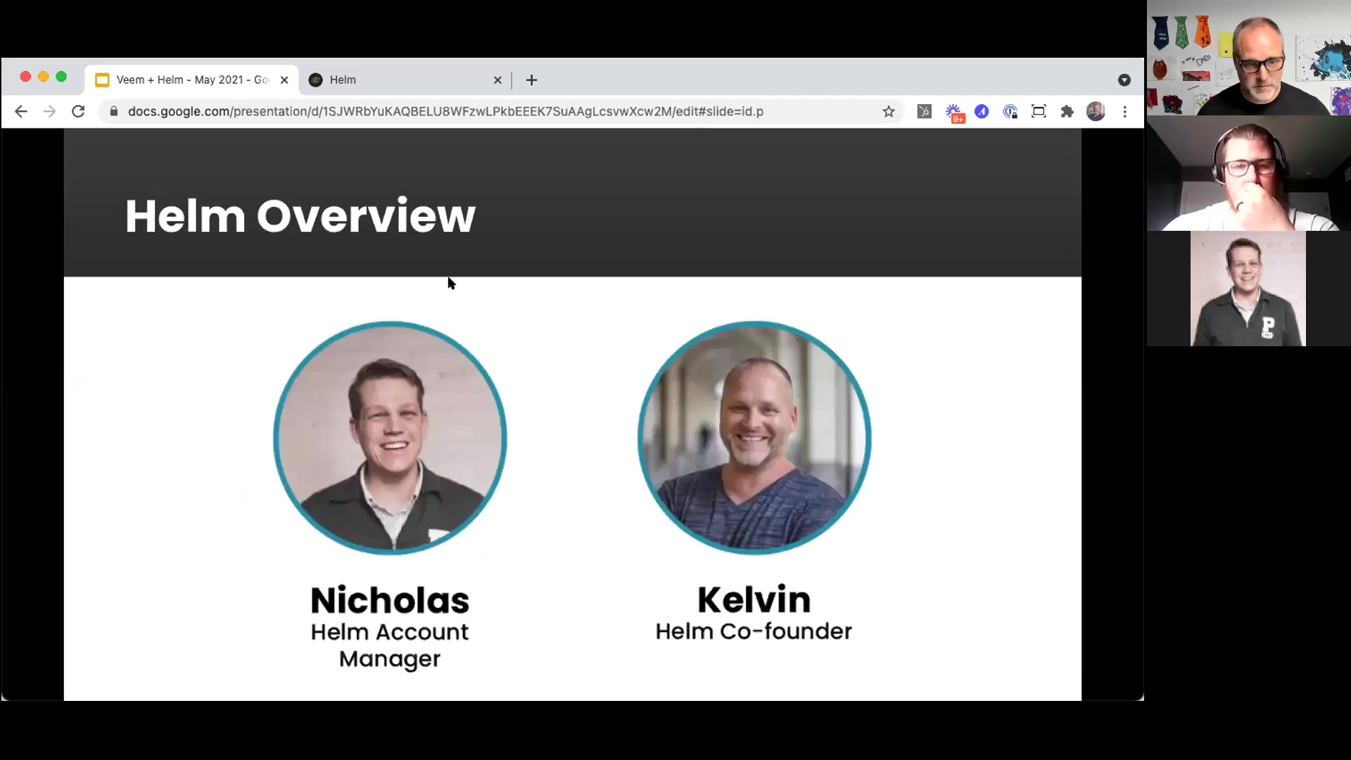 Helm + Veem Webinar - May 2021 - Helm Walkthrough