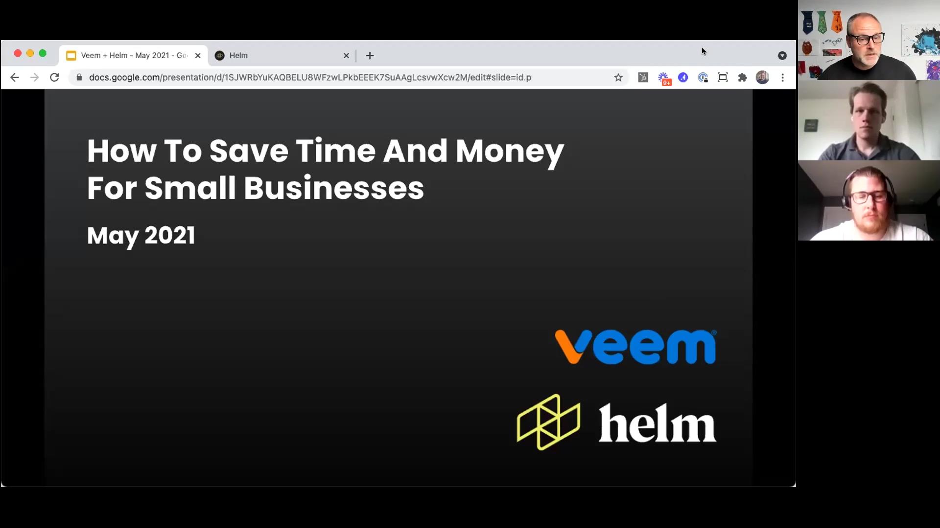 Helm + Veem Webinar - May 2021