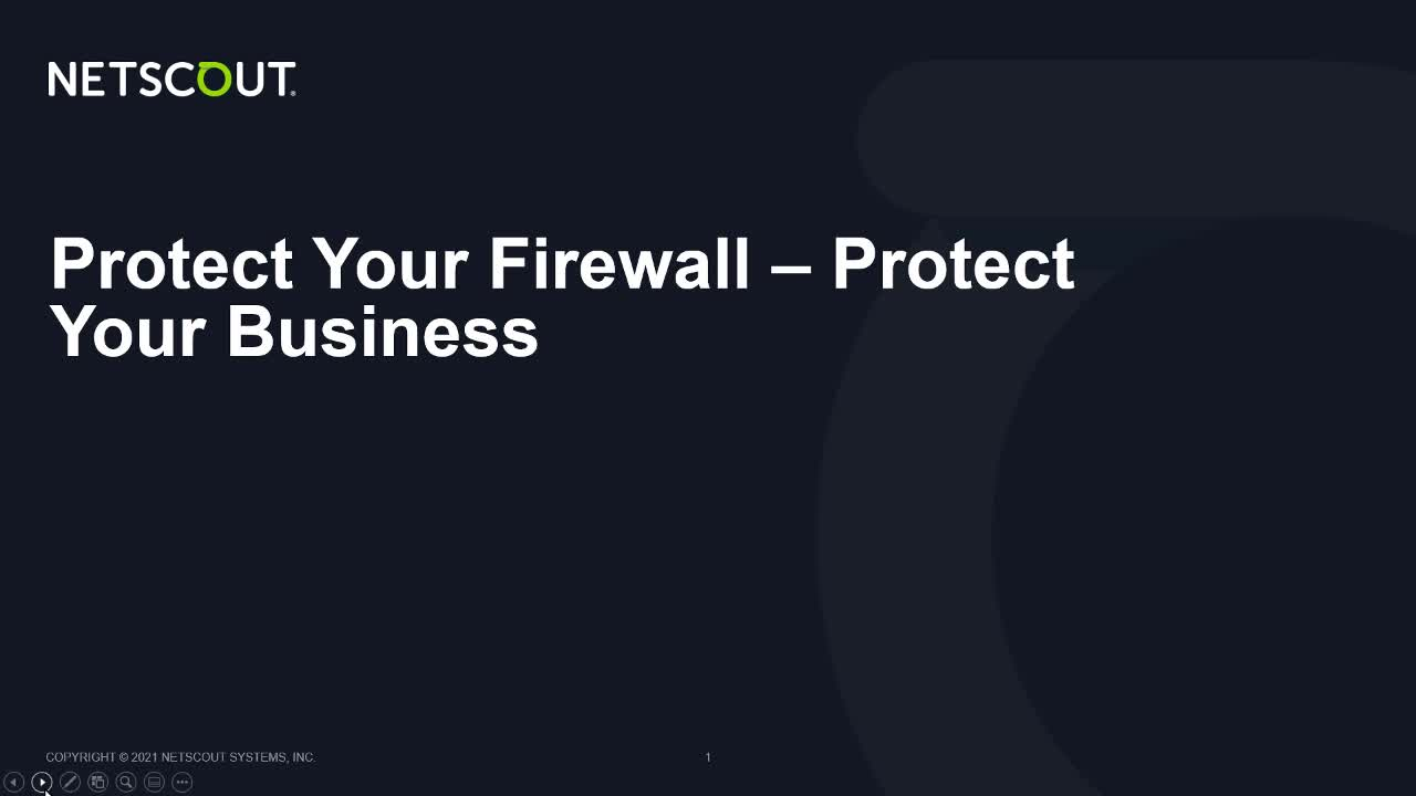 Protecting the Stateful Firewall