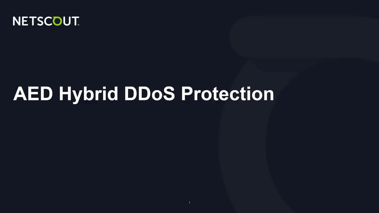 Hybrid-DDoS Protection