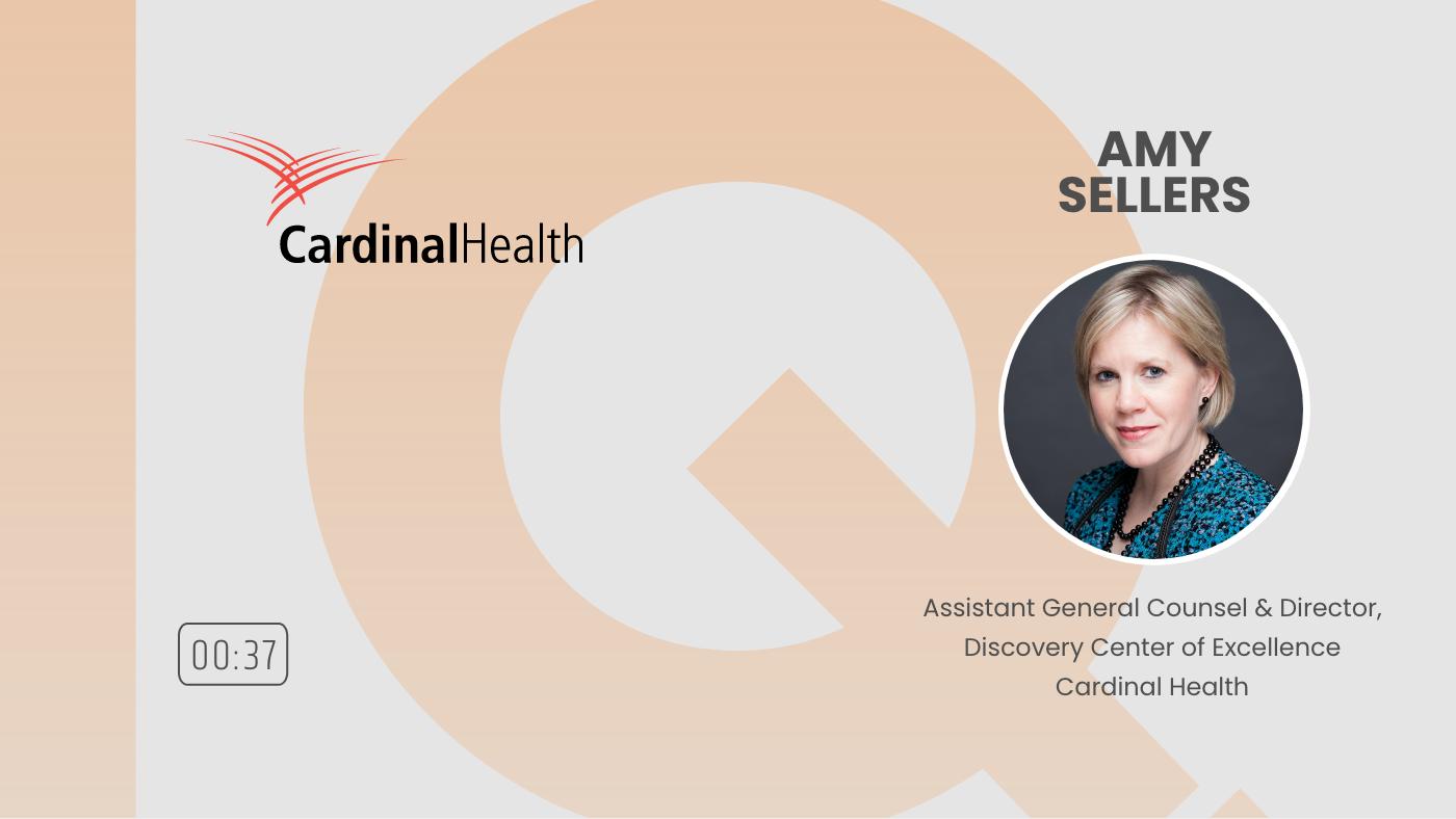 Text IQ Testimonial - Amy Sellars, AGC Cardinal Health