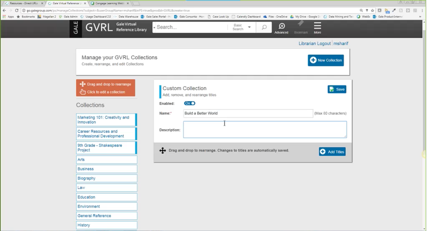 Gale Virtual Reference Library Webinar - Customization Portal Thumbnail
