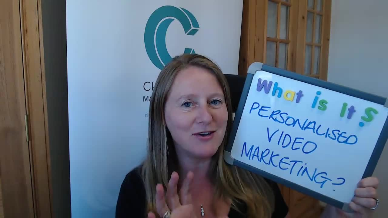 What is personalised video marketing?