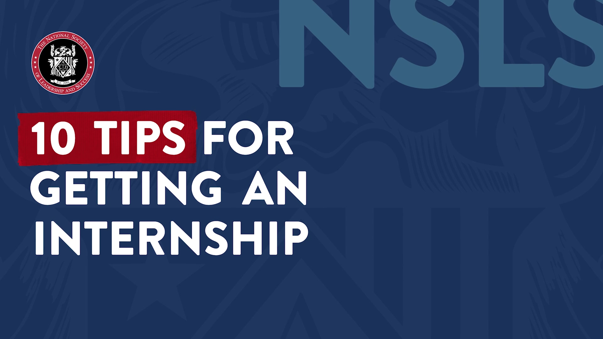 10 Tips for Getting an Internship