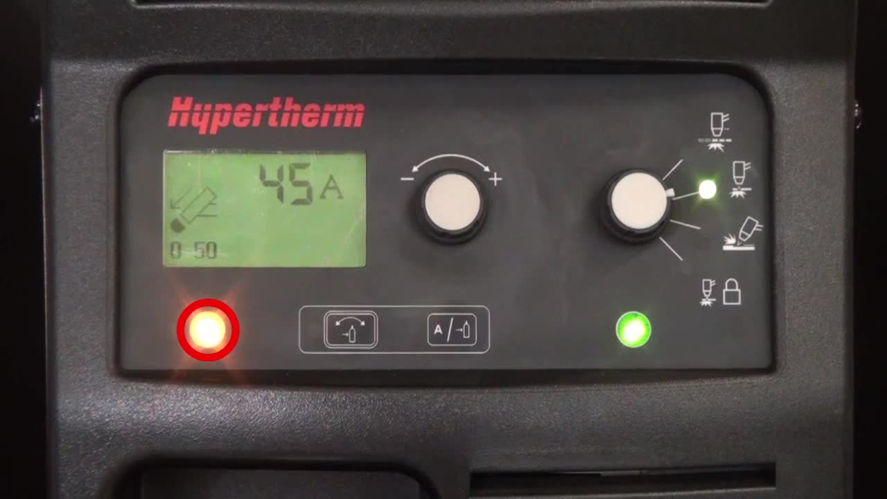 Troubleshooting Powermax Torch Cap Faults (a 0-50 Fault)