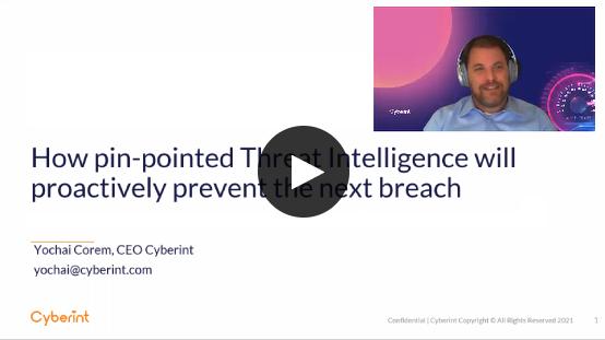 Threat Intelligence prevents breach