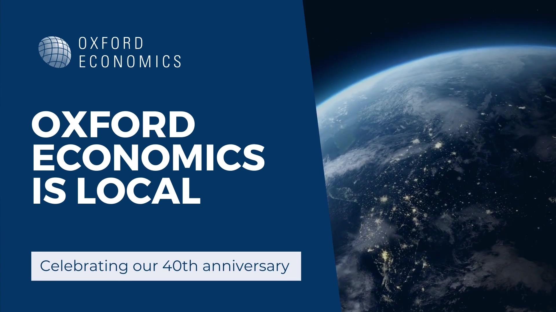 Oxford Economics is Local