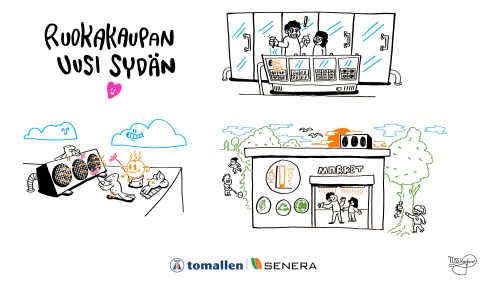 Ruokakaupan uusi sydän Kaupan kylmälauhteen LTO-video