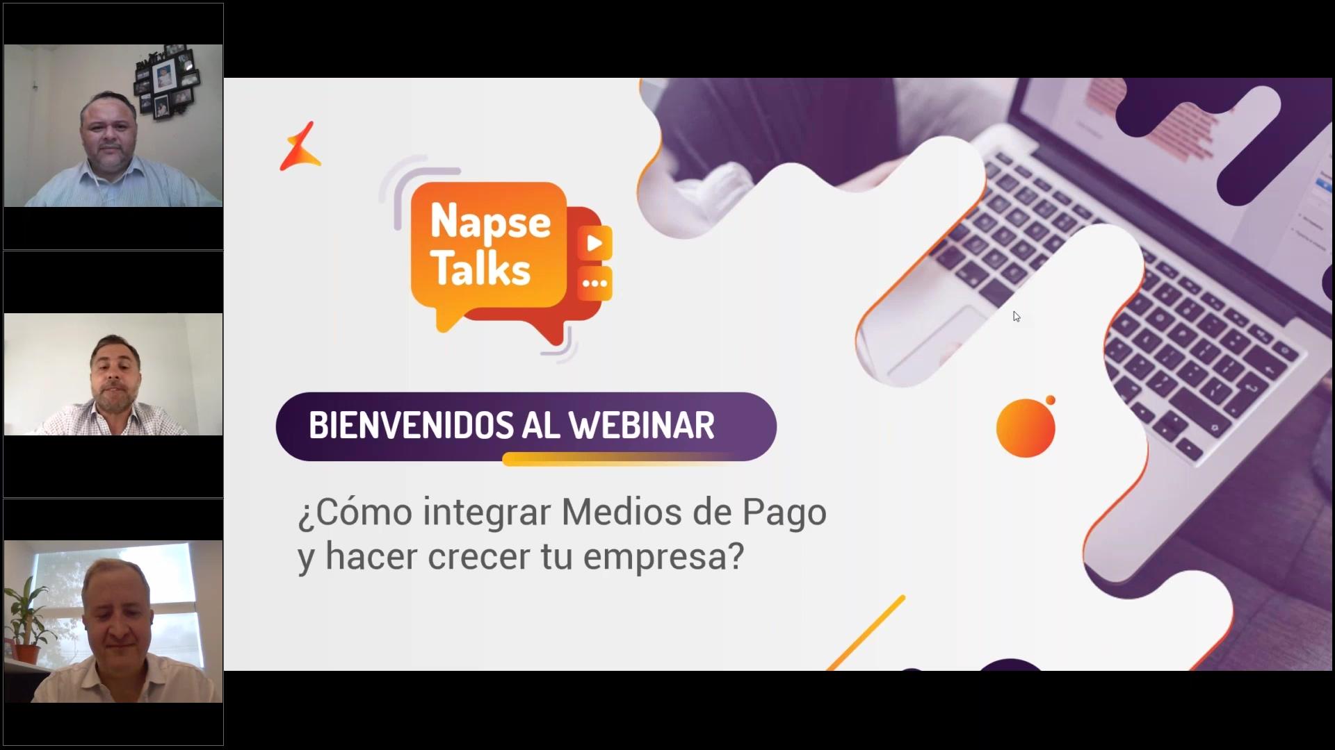 Napse Talks - ¿Cómo integrar medios de Pago y hacer crecer tu empresa_