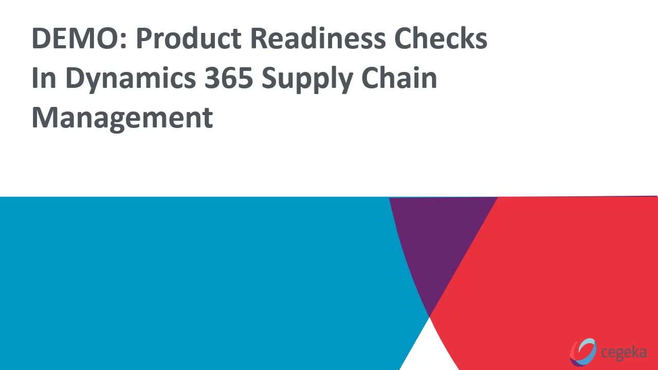 Introducing product readiness checks to streamline product launches