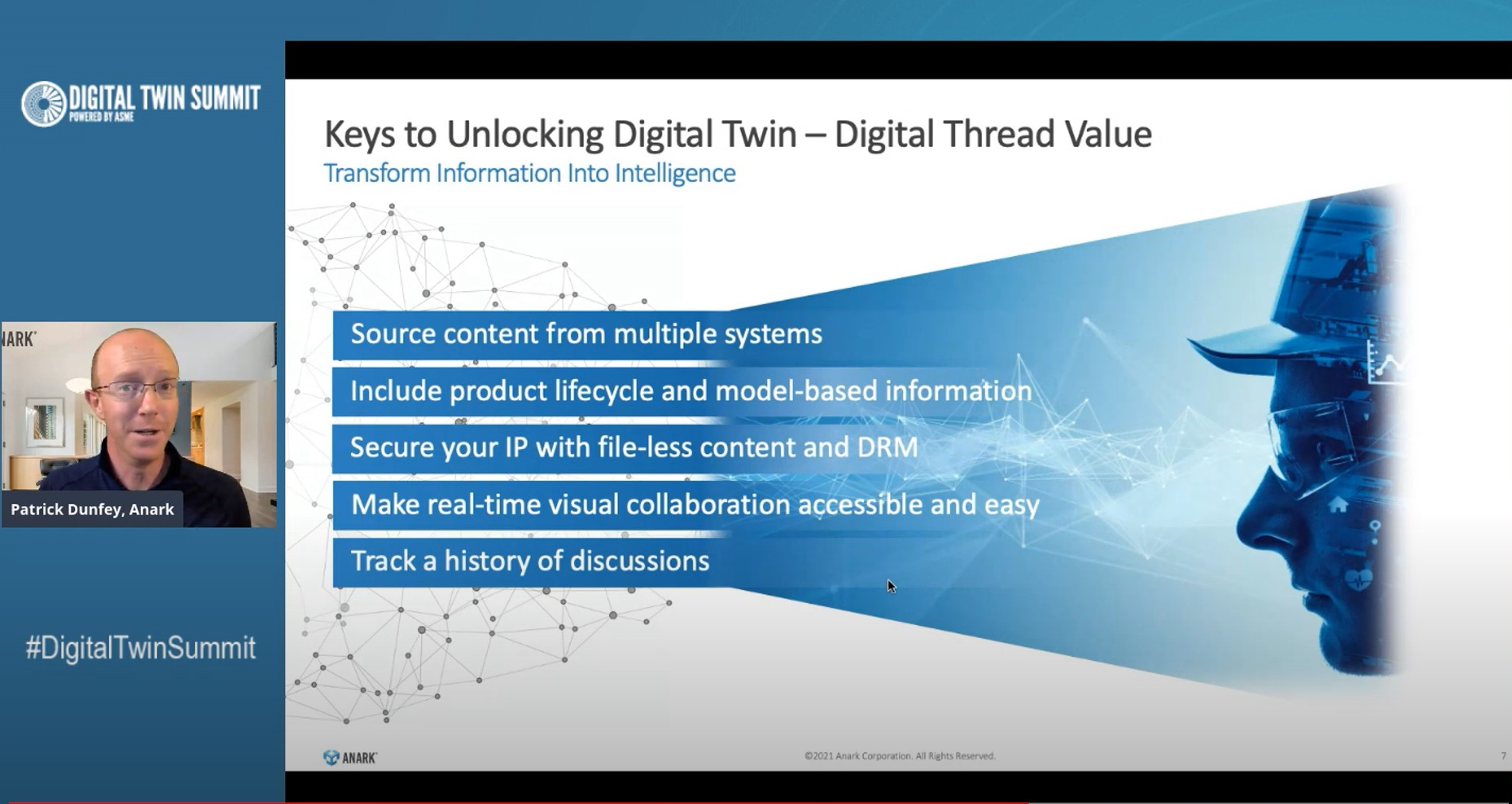 Digital Twins and the Digital Thread - A Force Multiplier for Manufacturing Value - Anark May2021