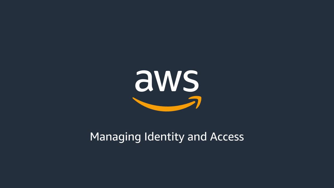 Managing identity and access in AWS