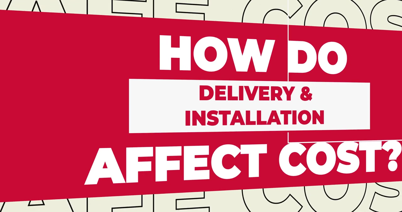 How Does DELIVERY AND INSTALLATION Affect the Cost of a Safe
