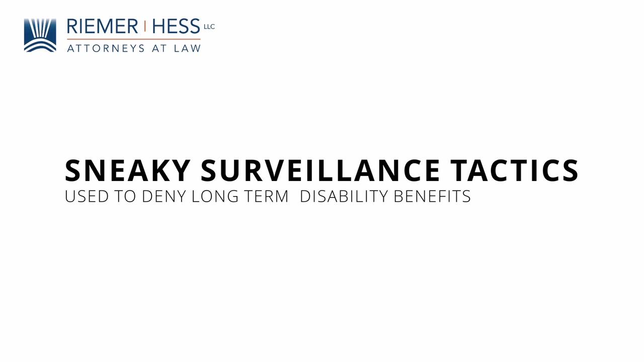 Riemer Hess Surveillance Video