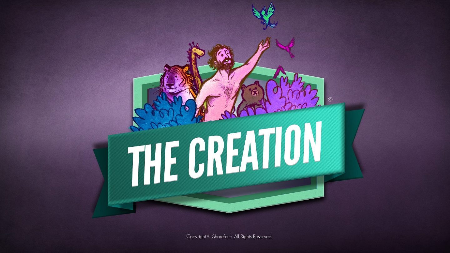 Genesis 1 & 2 The Creation Story for Kids