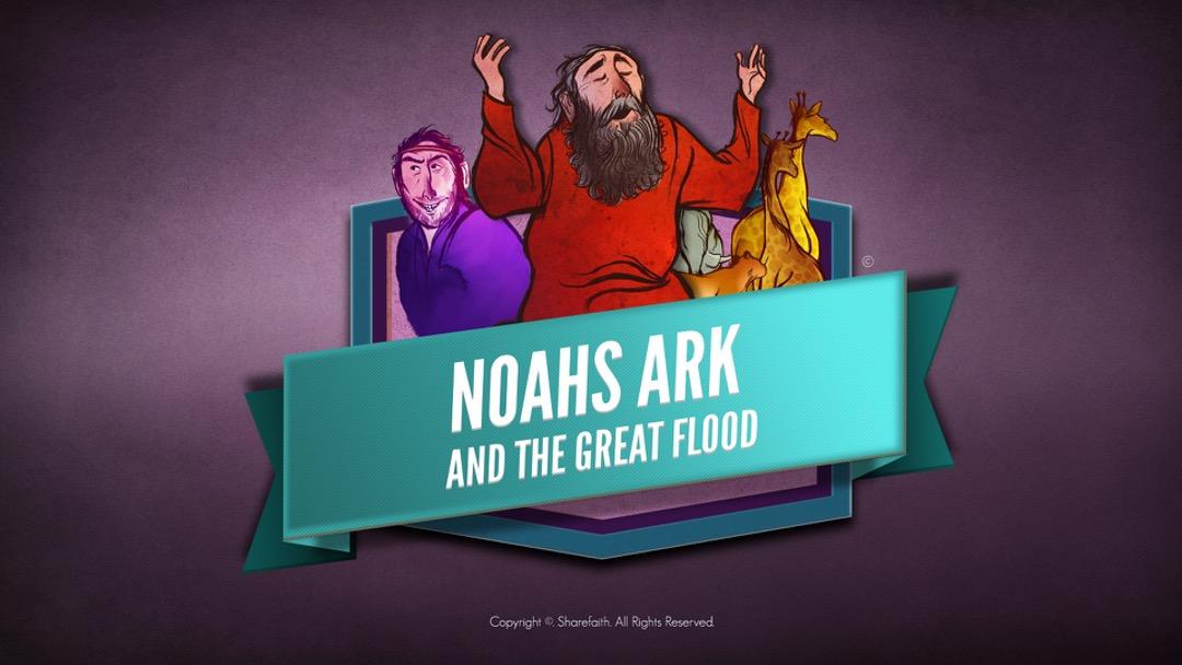 Genesisi 7 Noahs Ark Bible Story for Kids