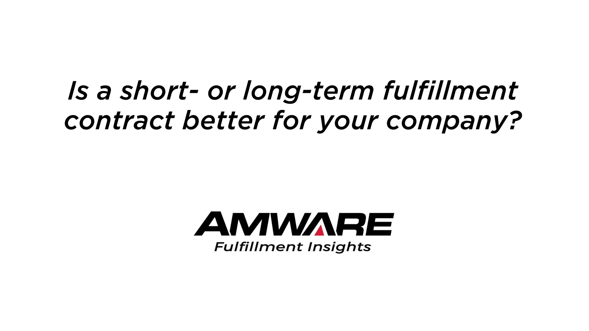 Logistics Marketing- Short vs Long 061021 v01a