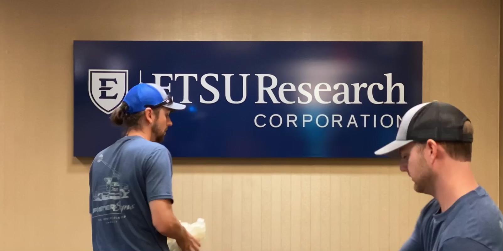 ETSU RC Sign Install Timelapse