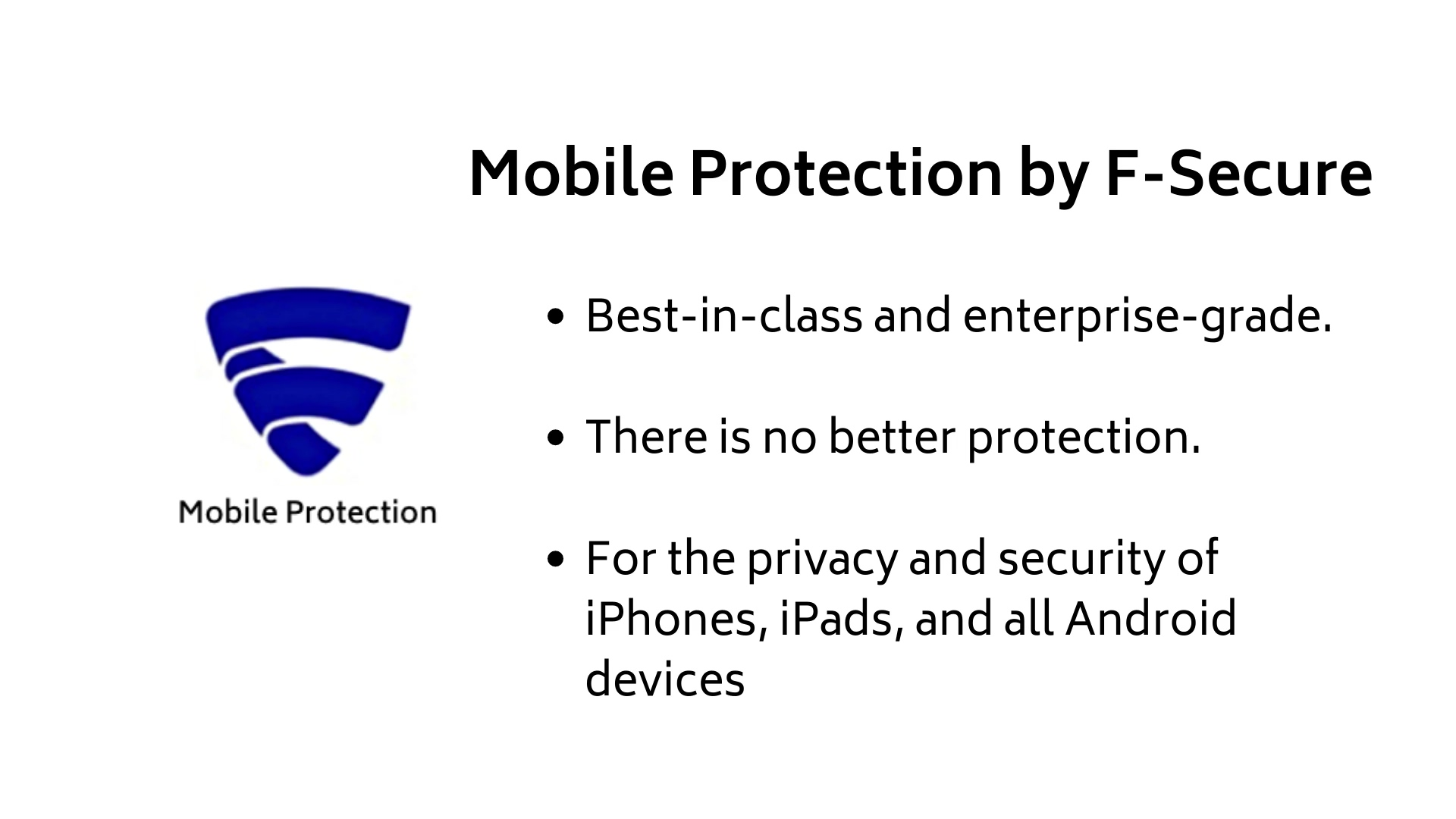 Mobile Protection By F-Secure installation video