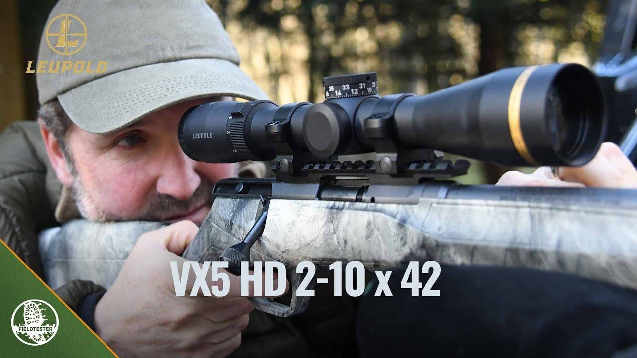 Leupold VX5 HD 2-10 x 42 rifle scope review