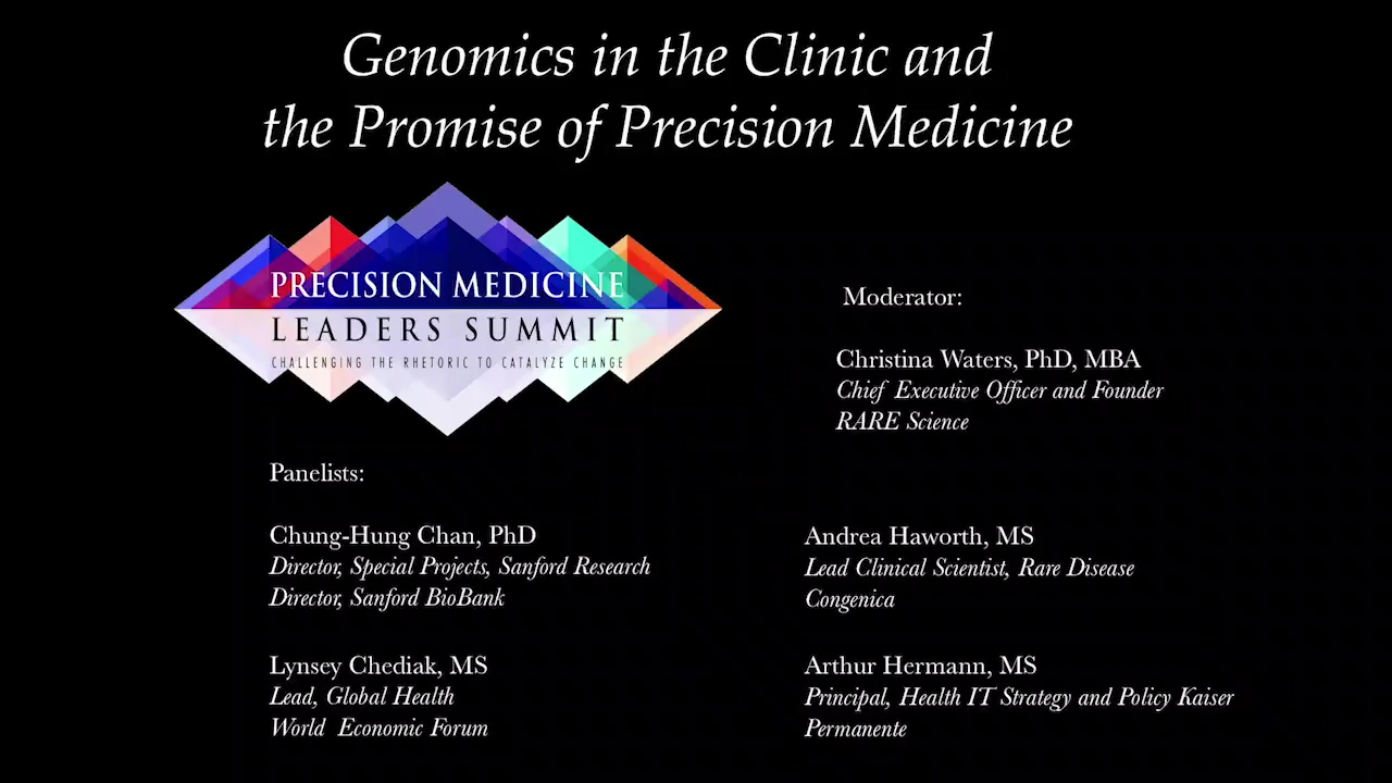 Genomics in the Clinic