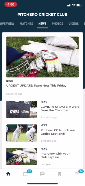 View Club news