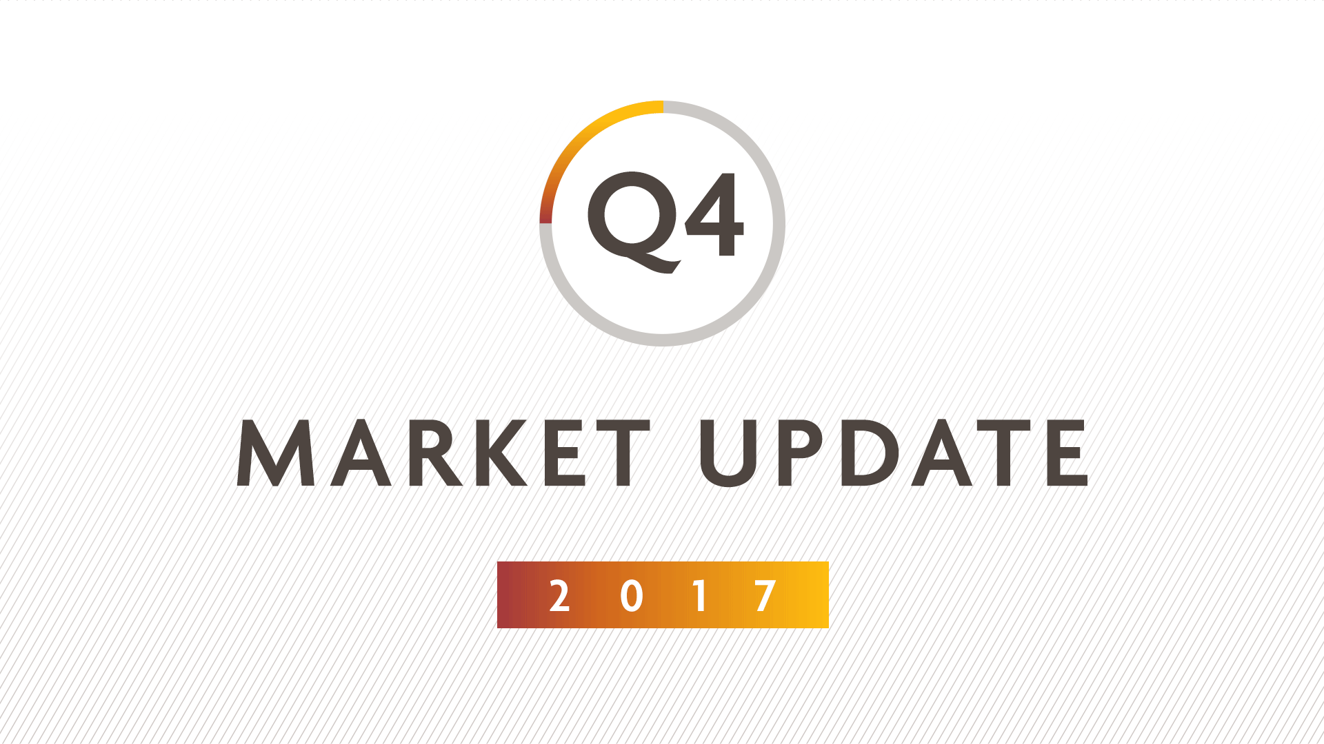 Q4 2017 MARKET UPDATE: Riding the bull. Will markets rally higher in 2018?