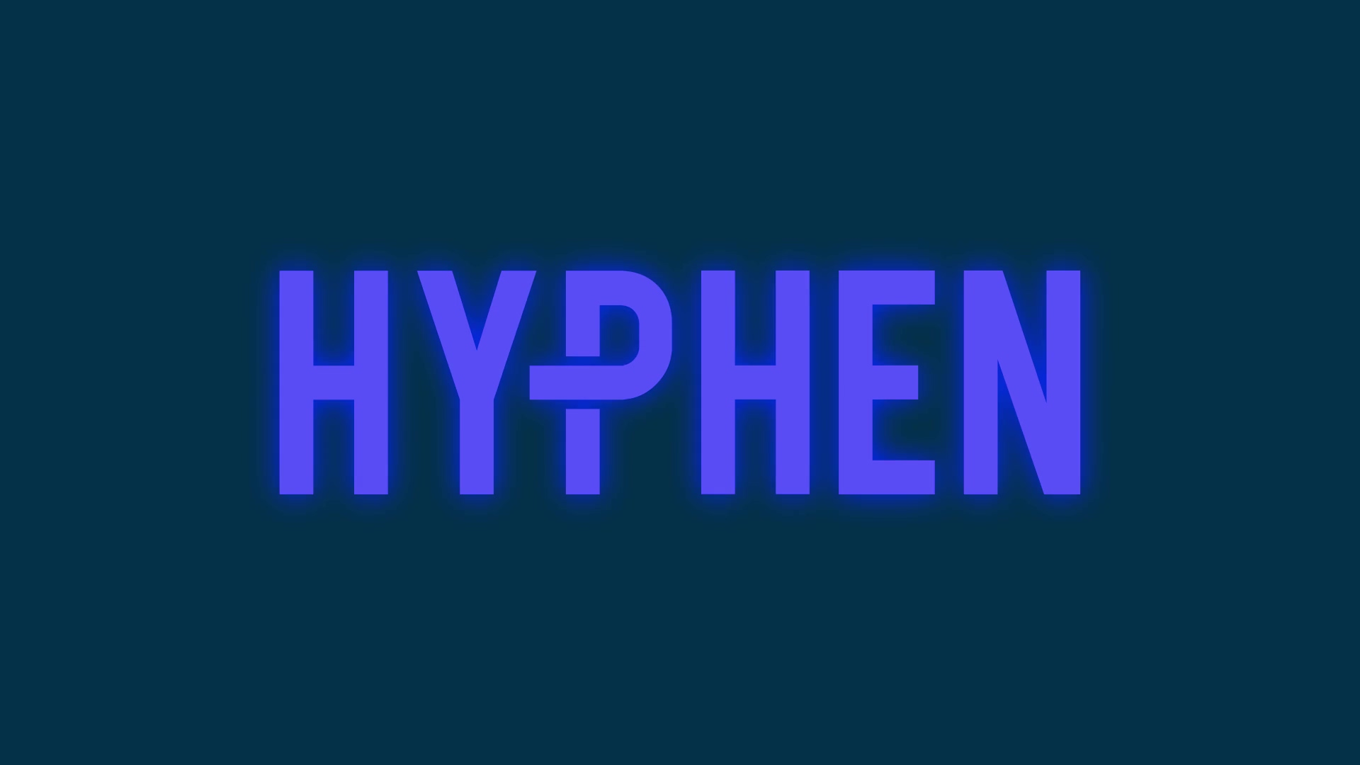 1646 Hyphen Showreel - Royalty Free Track Edit 1