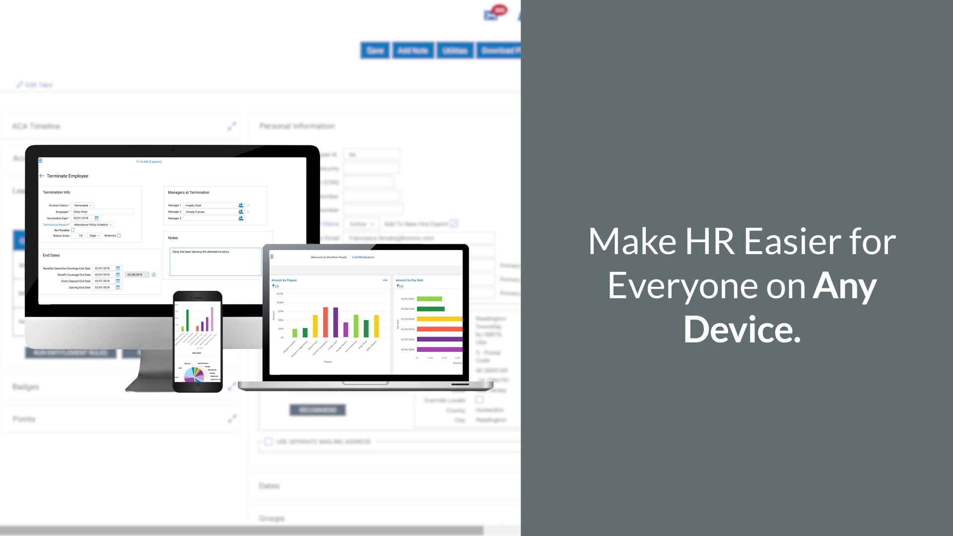 Workforce PayHub HR Software Video Overview