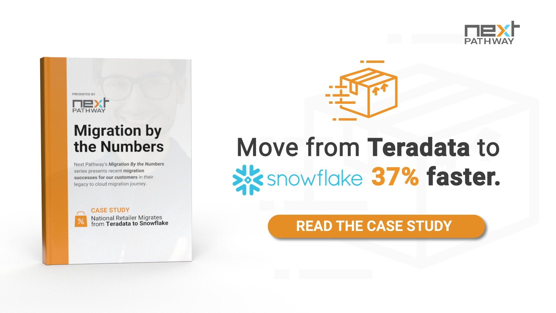 National Retailer Moves from Teradata to Snowflake