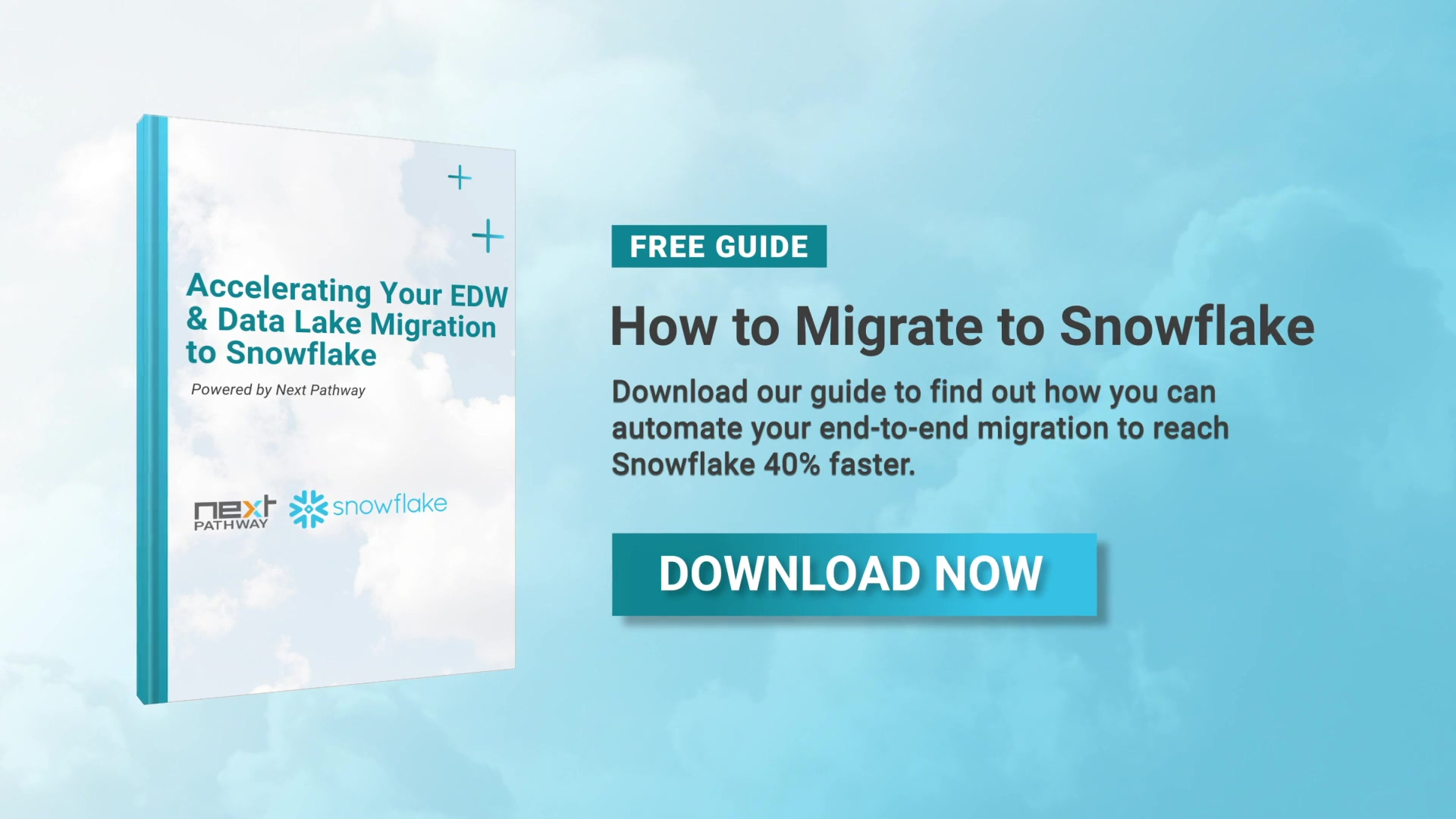 How to Migrate to Snowflake 40% Faster
