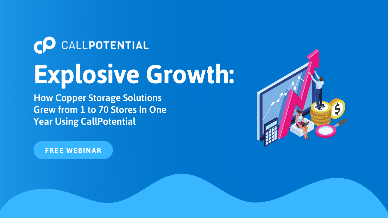 CallPotential Webinar with Copper Storage Solutions