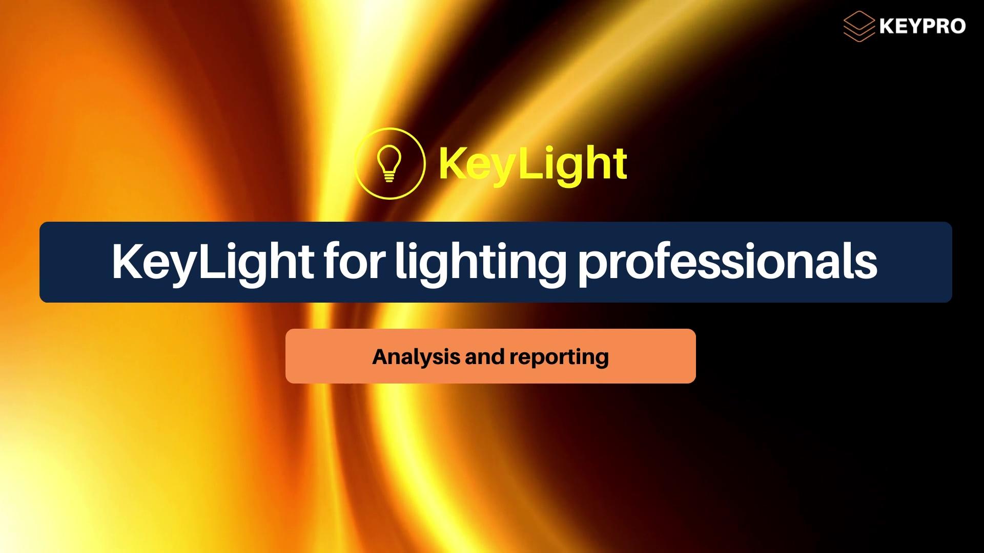 KeyLight EN marketing video 2021