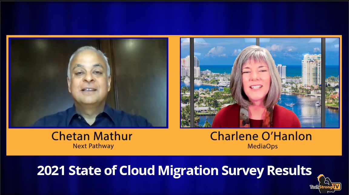 TechStrong TV Interview with Next Pathway CEO Chetan Mathur and Charlene OHanlon of MediaOps